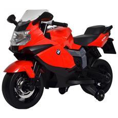 Moto Elettrica Bmw K 1300 S Rosso Con Luci E Suoni 12 Volt 1300 / re