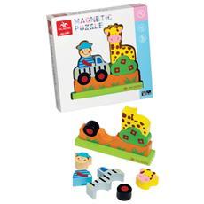 Gioco Puzzle Magnetico Zoo Giochi *00684