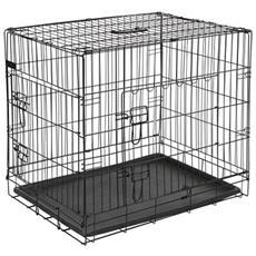 Gabbia Per Cani In Metallo 50,8x30,5x35,5 Cm Nera 15006