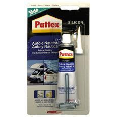 Silicone per Auto e Nautica Silicon colore Nero 60 ml Silicon Pattex