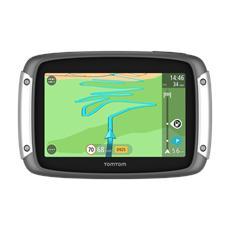 Rider 400 Navigatore GPS Mappe 45 Paesi Europei - Premium Pack (supporto auto / moto, custodia e antifurto)