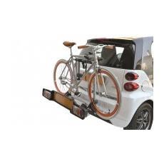 Portabici posteriore specifico per Smart Fortwo Smart Rack Deluxe acciaio 2 bici