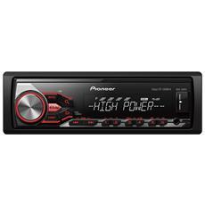 Sintolettore MVH-280FD Potenza 4x100W Supporto iPod / iPhone Direct / USB / AUX Nero
