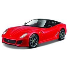 Giocattolo Veicolo Ferrari 599 Gto Scala 1:24 Colore Rosso