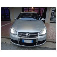 Kit Xenon Auto H7 6000°k Canbus 35 Watt Specifico Per Volkswagen Golf 5 V Versione Dal 2003 Al 2008 Completo Di Coppia Di Filtri Anti-errore E Coppia Di Adattatori Portalampada