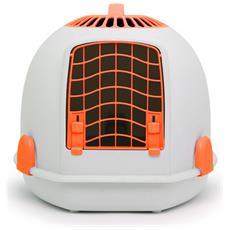 Pets Trasportino / toilette 2in1 Per Gatti (taglia Unica) (arancione)
