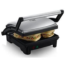 RUSSELL HOBBS - Griglia Elettrica Panini Maker Cook at Home 3 in 1...