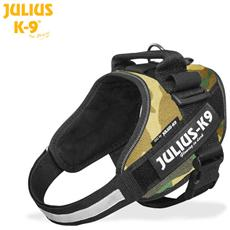 Julius K9 Pettorina Idc Power Harnesses Camouflage - Tg Mini