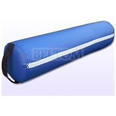 Cuscino Cilindrico Per Massaggio E Lettini Da Massaggi Rotondo / Cuscini Rotondi Fisioterapia Estetista Tattoo Tatuaggi - Blu