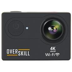 OVERSKILL - Action Cam SportCam Filmati 4K Display 2