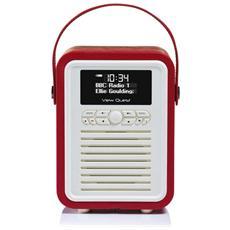 Retro Mini, 3,5 mm, AA, Portatile, LCD, DAB, DAB+, FM, Batteria, DC
