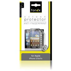 Pellicola Protettiva Anti Impronta per iPhone 5/5S / 5C / SE (2Pz)