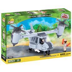 Vertical Take Off Plane Gioco Di Costruzioni Small Army 02567