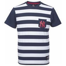 T-shirt Uomo Unspar Stripe Poc L Blu Bianco
