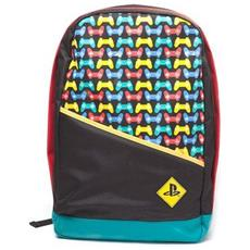 - Backpack With Colored Controllers Print Multicolor (zaino)