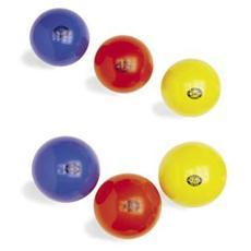 Palla Ritmica omologata Fgi da 420 Gr Colore Rosso