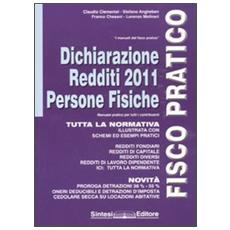 Dichiarazione dei redditi 2011. Persone fisiche