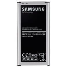 Batteria Bulk per Galaxy S5 Nera e Argento Plastica 2800 mAh EB-BG900BBEGWW
