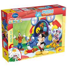 Casa Di Topolino (La) - Puzzle Double-Face Plus 60 Pz