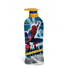 Spiderman gel doccia