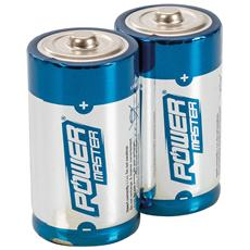 408718 Batterie Alcaline Di Tipo C Super Lr14 2 P. zi 2 P. zi