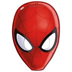 Mascherine Carta Ultimate Spider Man 6 Pezzi
