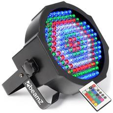 Giochi Di Luce Piane 154 Led 20w 10 Millimetri Rosso / Verde / Blu / Bianco - Dmx + Remote