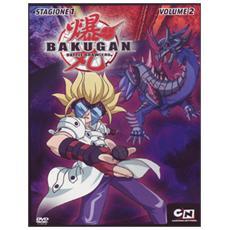 Dvd Bakugan - Stagione 01 #02