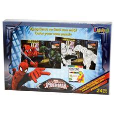 Spiderman puzzle creativo
