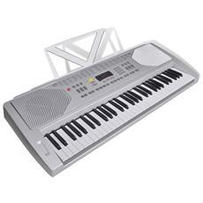 Tastiera Di Pianoforte Elettrica Con Supporto Musicale