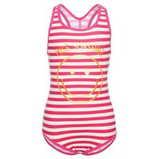 Nkfhappy Rose Swimwear Dress Blue Costume Intero Bambina Cm 122/128