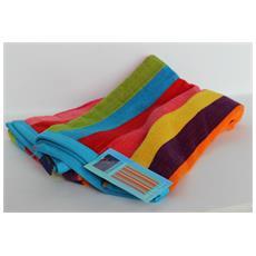 Asciugamano Telo Mare 100% Cotone Stripes Flashy 70x140 Cm 6220491701413
