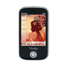"Vanity Touch Nero Dual Sim Display 2.8"" +Slot MicroSD Bluetooth RadioFM Fotocamera 3.2Mpx - Italia"