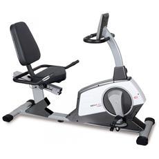 Cyclette BRX R90 Recumbent con Sedile HRC Elettromagnetica con Ricevitore Cardio