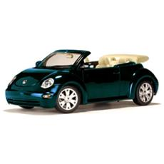 79753 Vw New Beetle Cabrio Green 1/18 Modellino
