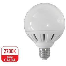 Lampada Globo Led E27 18w Resa 120w Luce Calda 1570 Lumen D. 95mm