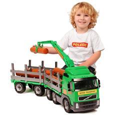 Camion Volvo Trasporto Legname Con Rimorchio 78x19x25 Cm 1450652