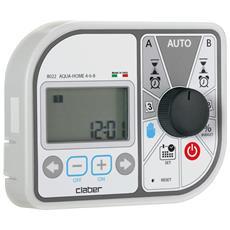 Programmatore Claber 8022 Aqua-home 4-6-8