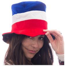 Berretto Con I Colori Bandiera Francese