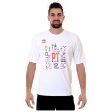 T-shirt Mc Ad The Flexx 17-18 01990 Pistoia Basket 2000 Official Product Taglia L