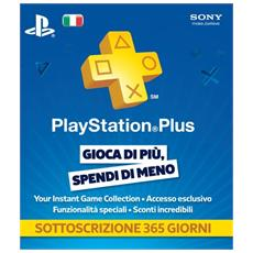 Abbonamento Playstation Network Plus Card 12 Mesi