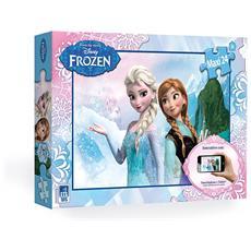 Puzzle Interattivo Frozen 24 pz 68 x 48 cm 7284510154