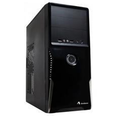 PC Case ADJ Alimentatore 500Watt Incluso ATX Motherboard Alimentazione 21/24Pin supporto SATA 1*USB 3.0 + 1*USB 2.0 e Audio HD Col. Nero