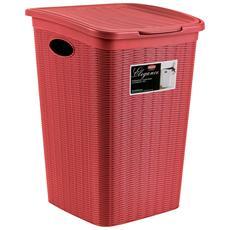 Portabiancheria Rosso - Modello Elegance
