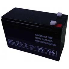 Batteria Ricaricabile Al Piombo Accumulatore Y6g20 12v 7a Ampere Impianto Solare Fotovoltaici Ups Antifurti