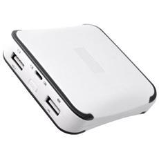 MR744, Ioni di Litio, USB, Grigio, Bianco, micro USB, Universale, Micro-USB