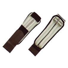 Polsiere tubolari in lycra e neoprene da 1,5 Kg Colore Grigio