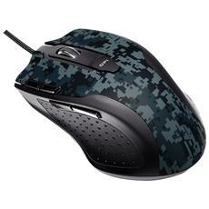 Mouse Gaming Ottico Echelon USB 5600 Dpi Nero