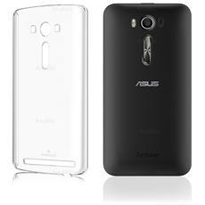 """Cover Anukku® Ultra Fina Trasparente Morbida In Air Gel Per Asus Zenfone 2 Laser 5.5"""" Ze550kl"""