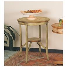 Tavolino In Legno Da Diam. 60 H72